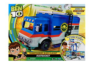 Ben 10 Transforming Alien Playset Rustbucket