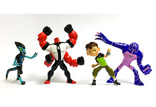 Ben 10 Mini Collectable Figurines