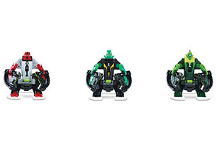 Ben 10 Omni-Launch Battle Figures