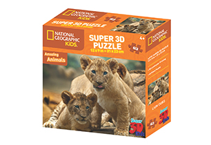 National Geographic 63pc African Lion 3D Puzzle