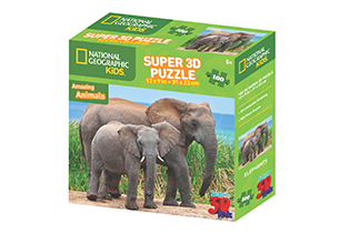 National Geographic 100pc Elephants 3D Puzzle