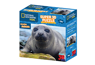 National Geographic 100pc Seal 3D Puzzle