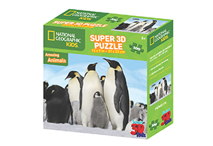 National Geographic 100pc Penguin 3D Puzzle