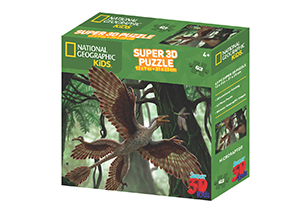 National Geographic 63pc Microraptor 3D Puzzle