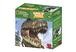 National Geographic 100pc Tyrannosaurus 3D Puzzle