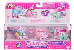 Shopkins Cutie Cars 3 Pack