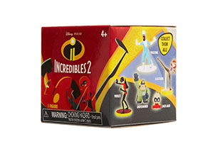 Incredibles 2 Mini Figures in Foil Pack