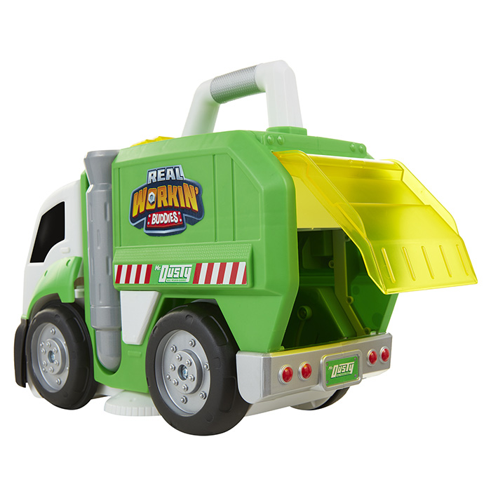 Dusty The Super Duper Garbage Truck Real Working Buddies