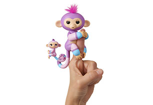Fingerlings Big Monkey With Baby