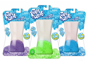 Foam Alive Single Pack Asstd Colours