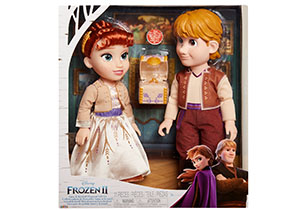 Disney Frozen 2 Anna & Krsitoff 2 Pack