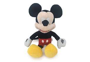Mickey Plush With Sound