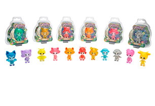 Glimmies 6cm Mini Light Up Doll 1Pack