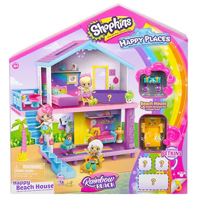 Happy Places Shopkins Beach House Playset