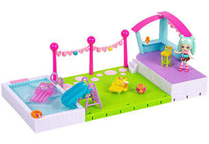 Happy Places Shopkins Pool & Sundeck