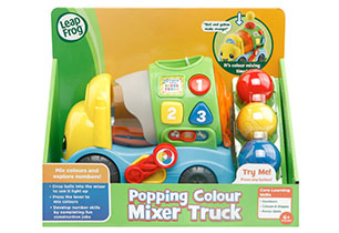 LeapFrog Popping Colour Mixer Truck