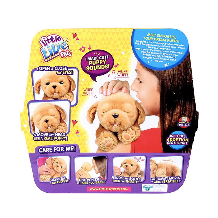 634b47fb6f5f Little Live Pets My Dream Puppy - Snuggles | Little Live Pets ...