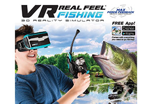 VR Real Feel Fishing Set