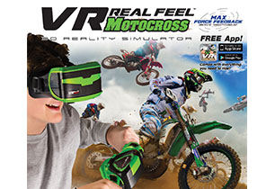 VR Real Feel Motorcycle (Motorcross)