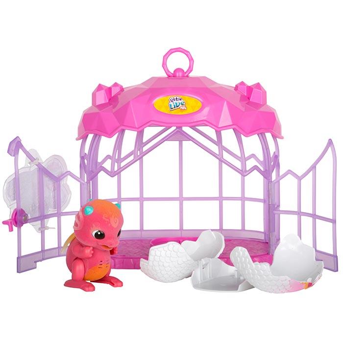 Little Live Pets Surprise Dragon Cage Playset Little