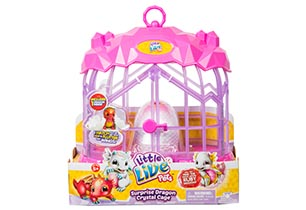Little Live Pets Surprise Dragon Cage Playset