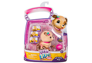Little Live Pets Lil' Cutie Pup Single Pack