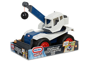 Little Tikes Dirt Diggers Plow & Wrecking Ball