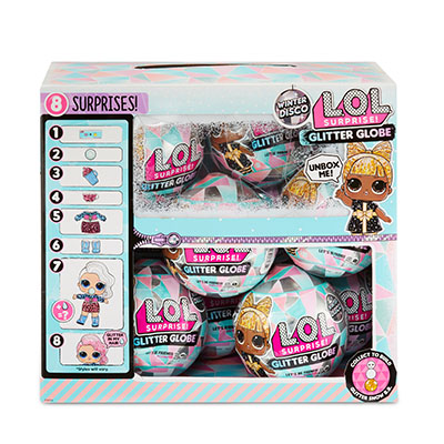 L.O.L Surprise Glitter Globe Winter Disco Series
