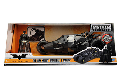 Batman 2008 Batmobile with Figure 1:24