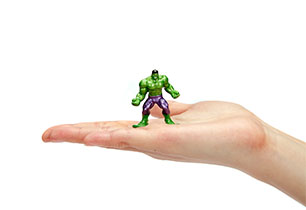 Nano MetalFigs Marvel Avengers - 1 Pack