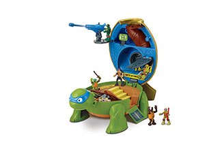 TMNT Micro World Pet Turtle Playset