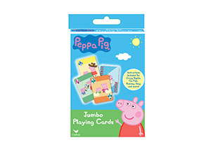 Peppa Pig Jumbo Playing Cards