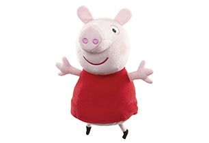 Peppa Pig- 25cm Peppa Plush (2 Assorted)