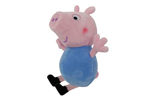 Peppa Pig- 25cm George Plush (2 Assorted)