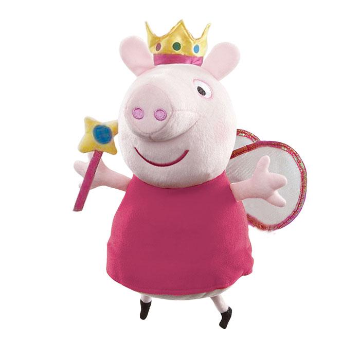 Peppa Pig 35cm Magic Princess Peppa Plush Peppa Pig Prima Toys