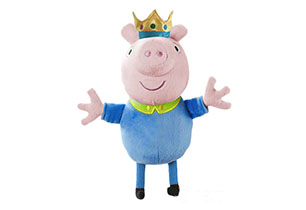 Peppa Pig- 35cm Prince George Plush