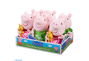 Peppa Pig Talking Peppa & George