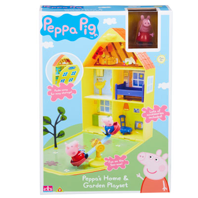 Peppa Pig Home Amp Garden Playhouse Peppa Pig Prima Toys