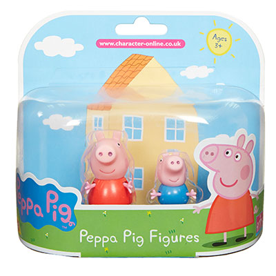 Peppa Pig 2 Pack Figures