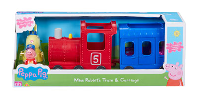 Peppa Pig Miss Rabbits Train & Carriage