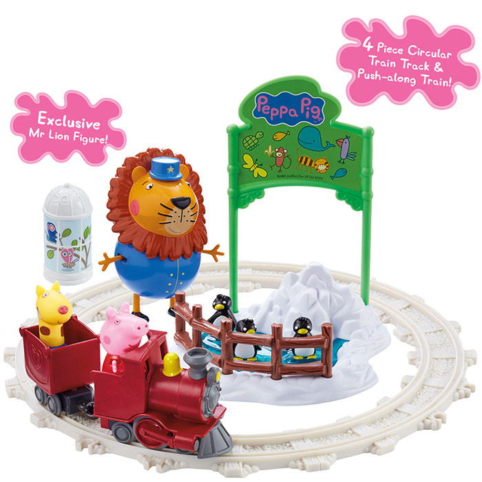 Peppa Pig Day Out At Zoo Set Peppa Pig Prima Toys