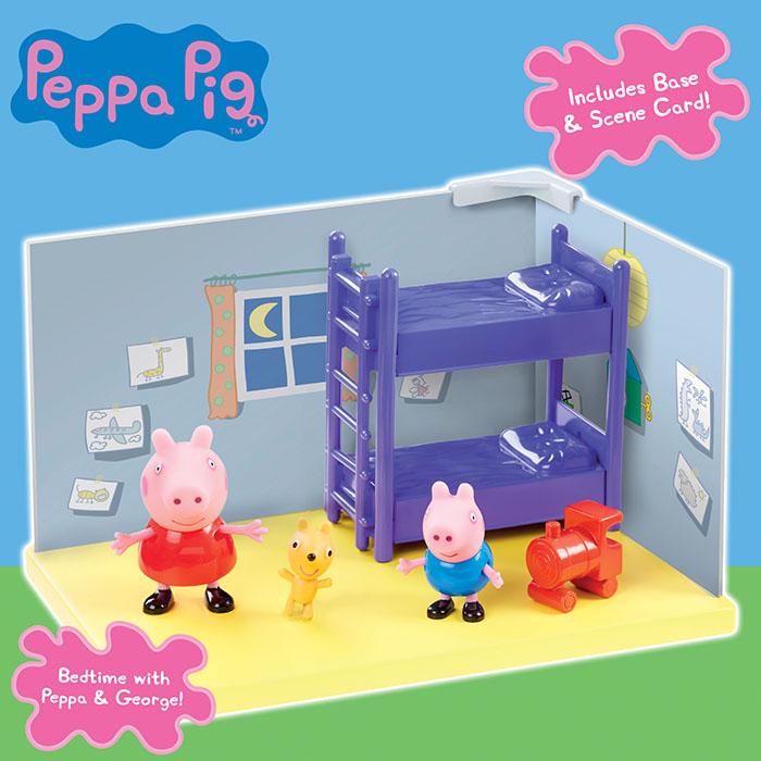 Peppa Pig Scene Asstd Peppa Pig Prima Toys