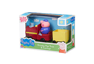 Peppa Pig Grandpa Pig's Train & Carriage