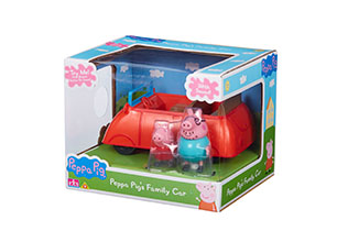 Peppa Pig's Family Car With Sound