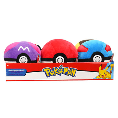 Pokémon 10cm Poké Ball Plush