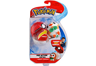 Pokémon Pop Action Poké Ball Assorted