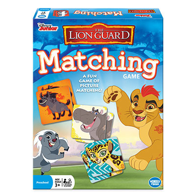 Disney Junior Lion Guard Matching Game