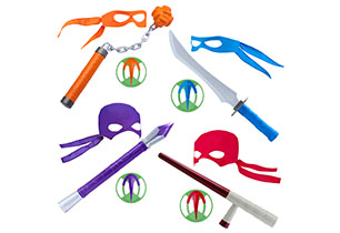 Rise of the Teenage Mutant Ninja Turtles Ninja Gear - Assorted