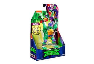 Rise of the Teenage Mutant Ninja Turtles Deluxe Attack Figures