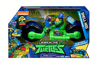 Rise of the Teenage Mutant Ninja Turtles Shell Hog With Figure Set